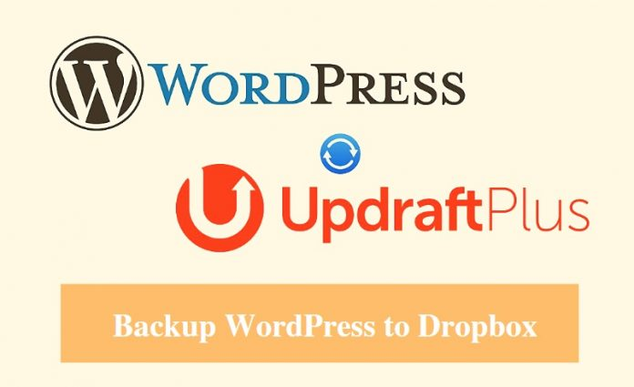 Backup WordPress to Dropbox