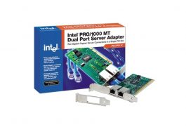 Intel PRO-1000 MT PCI-X Dual Port Server Adapter