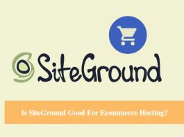 Is SiteGround Good For Ecommerce Hosting?
