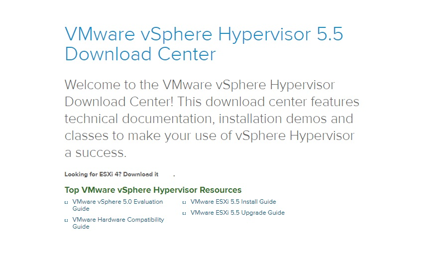 ESXi 5 5 Free Hypervisor: Will Home Labs Survive? - ReviewPlan