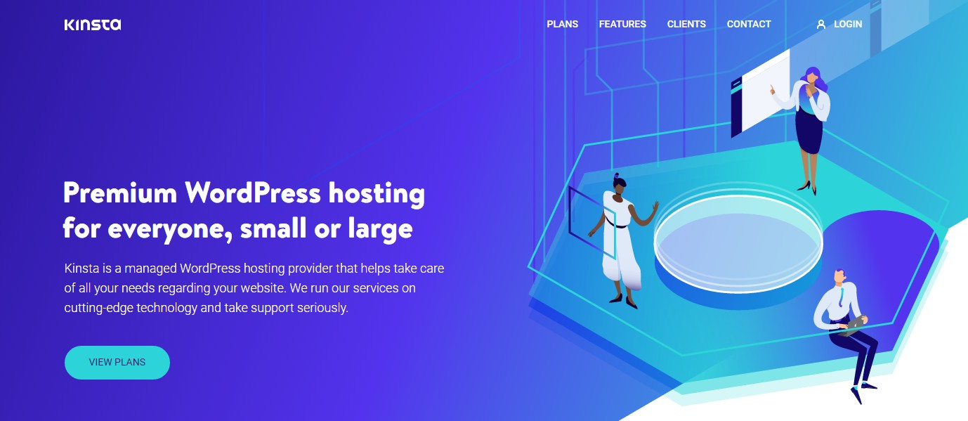 DreamHost alternative Kinsta