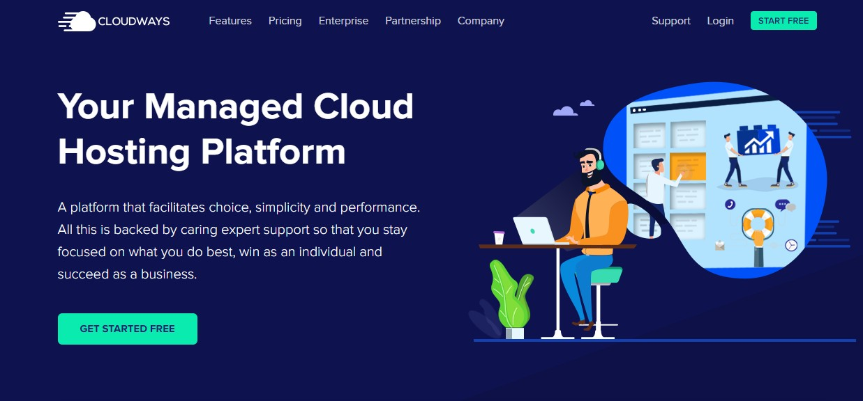 Best Web Hosting for artists Cloudways