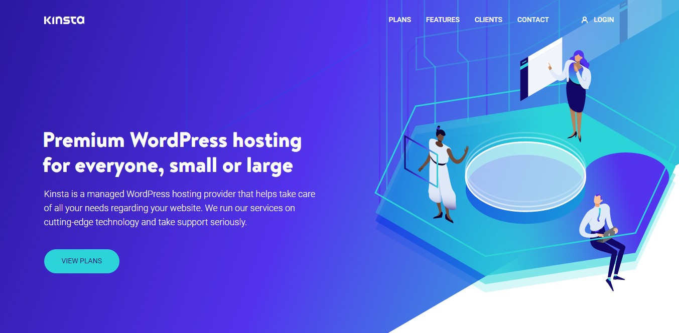 Best Web Hosting for artists Kinsta