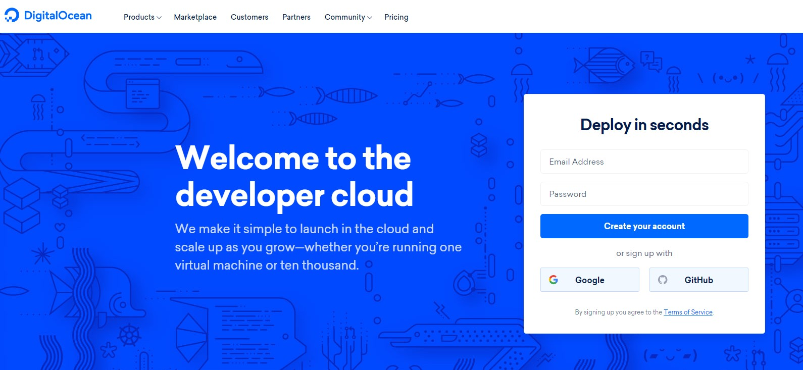 Top Web Host For SEO DigitalOcean