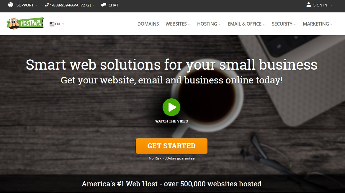 Top Web Host For SEO HostPapa