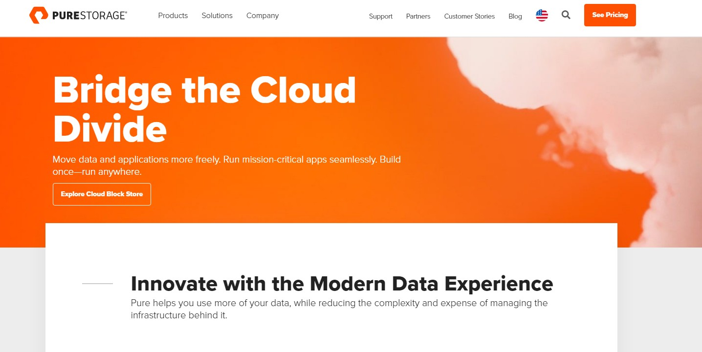 Best SAN Companies Pure Storage