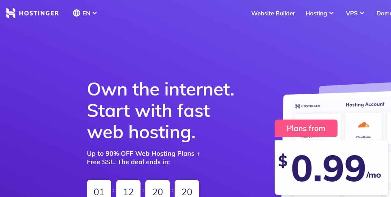 Hostinger vs. HostGator For Malaysia Web Hosting: Hostinger