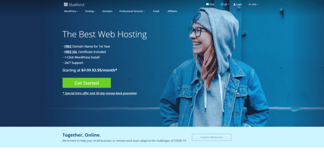bluehost best malaysia web hosting with cPanel