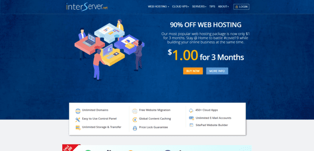 interserver best malaysia web hosting with cPanel