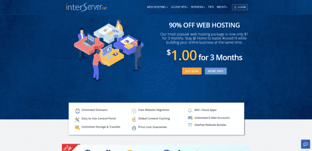 interserver best malaysia wix web hosting alternatives