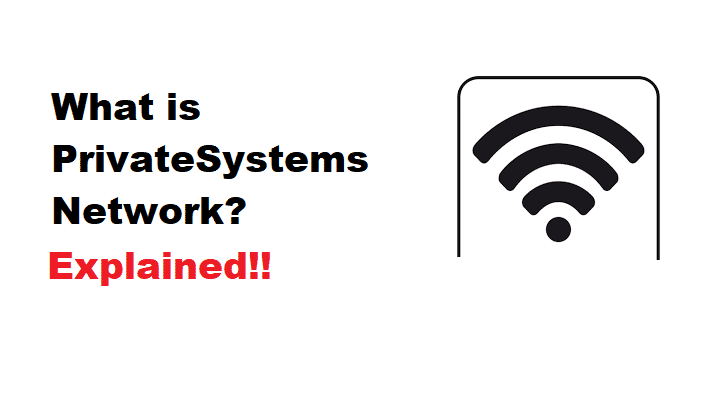 What is Privatesystems network